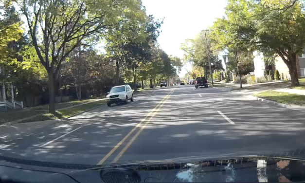 Driver Swerves Into Oncoming Traffic