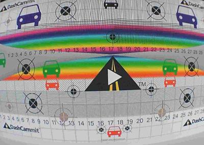 Dashcam test pattern