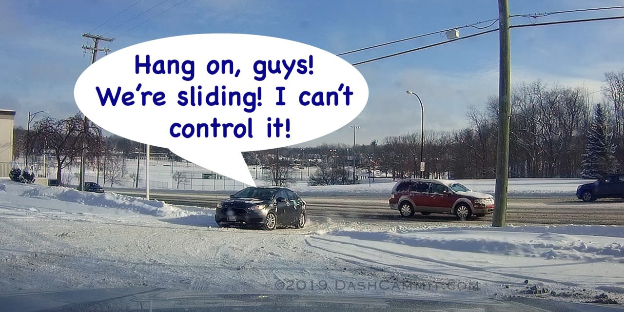 Winter Driving is Hard
