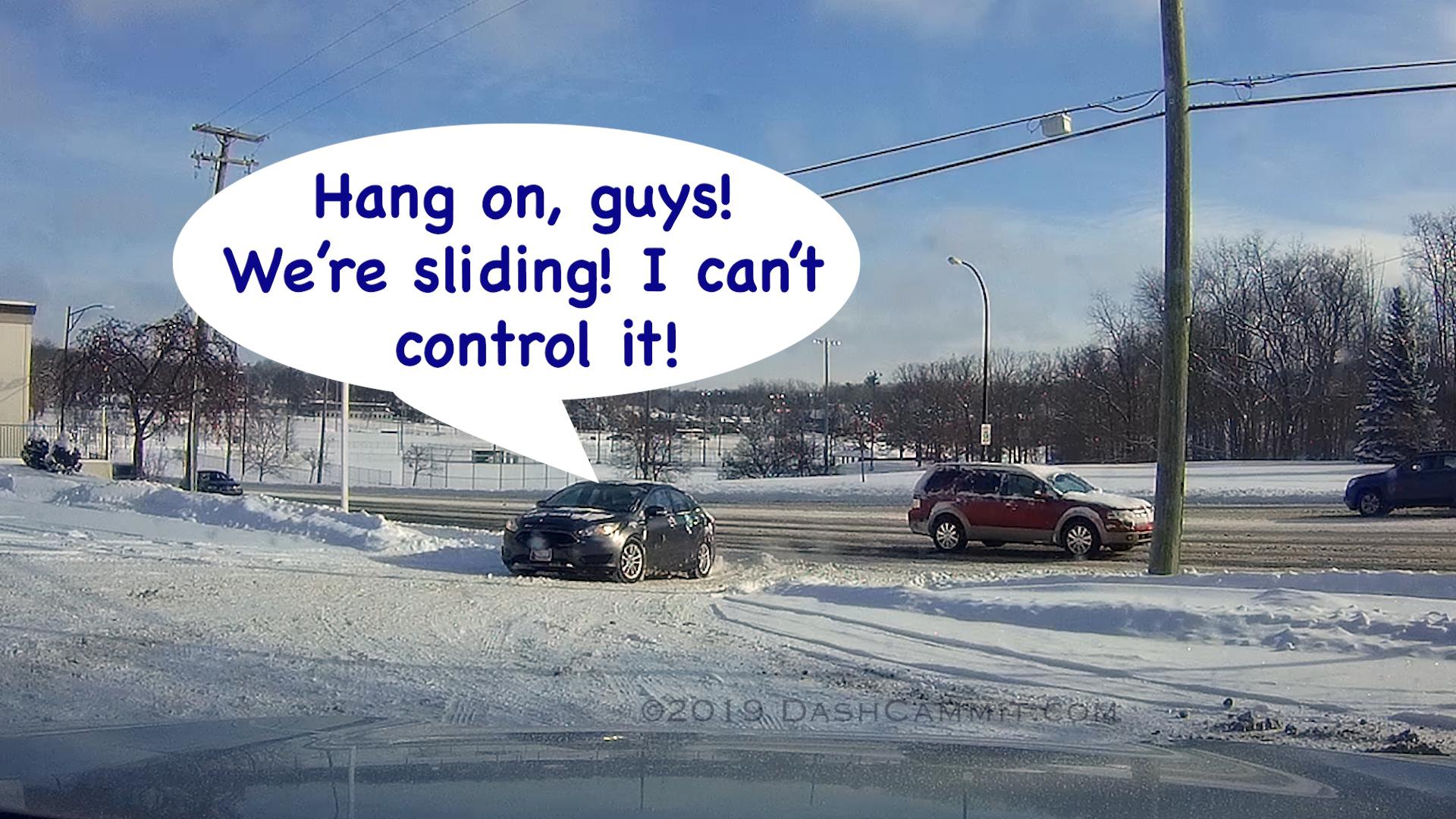 sliding car